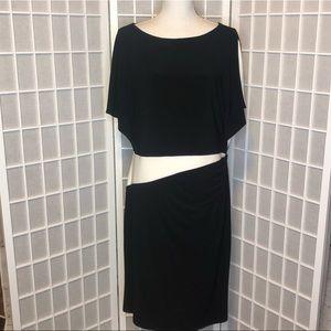 Lauren Ralph Lauren split sleeve dress size 16